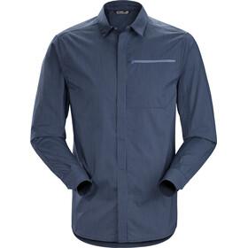 Arc'teryx Kaslo T-shirt à manches longues Homme, cobalt moon